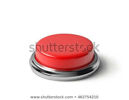 vermelho · botão · isolado · fundo · segurança · ajudar - foto stock © ozaiachin