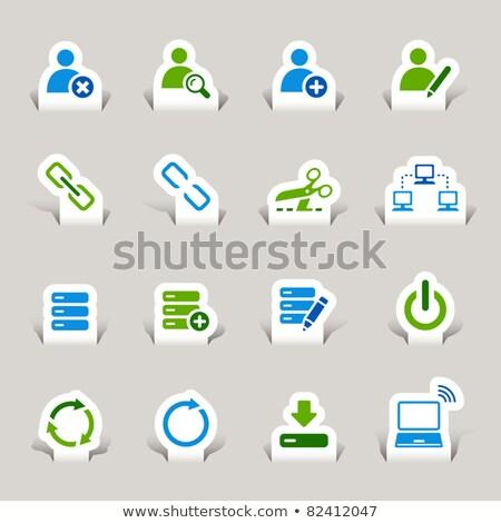 Social Media Button - Delete. Stock photo © tashatuvango
