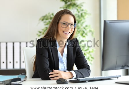Laborer sitting with arms crossed Stock photo © photography33