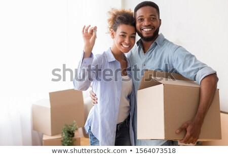 Kluczowych nowego domów zamknięte Zdjęcia stock © wavebreak_media