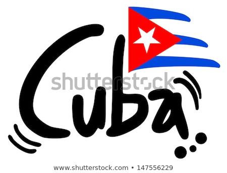 Hoeden cubaans revolutie verkoop markt Havanna Stockfoto © pedrosala