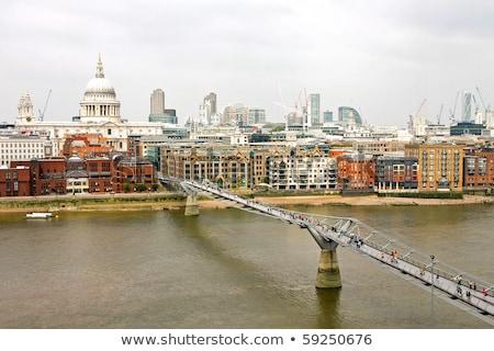 london foot bridge stock photo © alenmax
