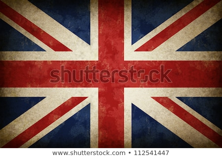 vlag · Engeland · grunge · effect · papier · abstract - stockfoto © lightsource