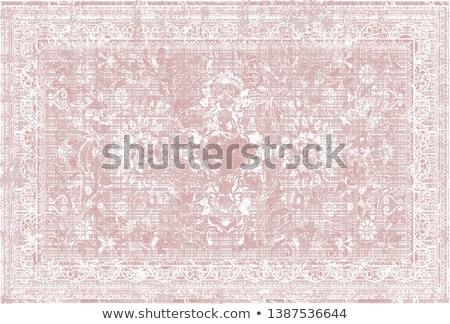 Blauw · tapijt · textuur · abstract · retro - stockfoto © trgowanlock