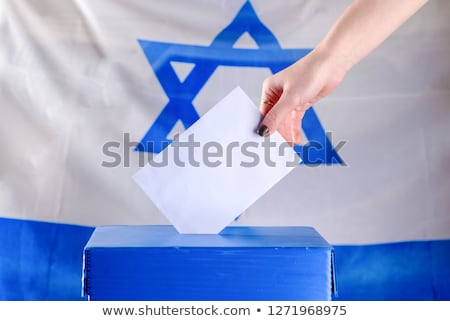Ballot box Israel Stock photo © Ustofre9