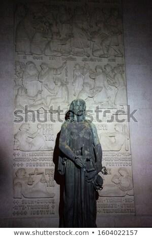 Female sculpture in Oporto Stock photo © fxegs