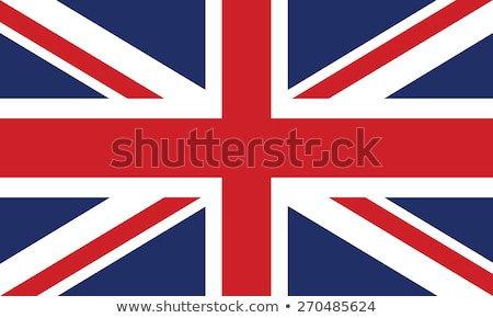 London with British flag Stock photo © marinini