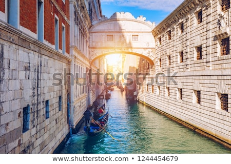 bridge of sighs ponte dei sospiri in venice italy stock photo © aladin66