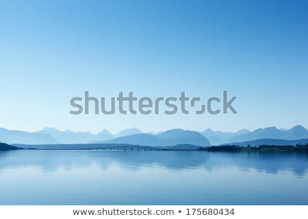 view of the mountains and fjords Stock photo © Discovod