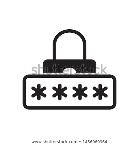 Kennwort Symbol Stock foto © Myvector