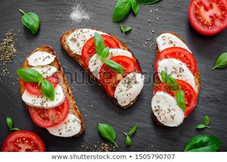 fresco · orgânico · comida · verde · queijo - foto stock © artlens