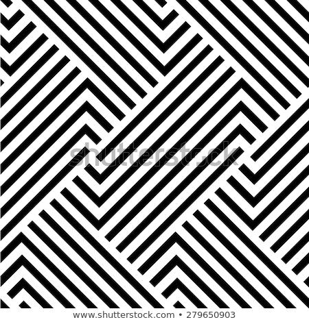 抽象的な · 幾何学的な · 縞模様の · パターン · ベクトル · グラフィック - ストックフォト © creative_stock