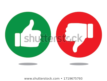 dislike thumb design Stock photo © burakowski