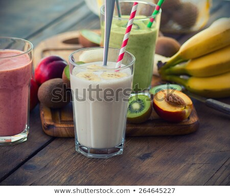 Photo stock: Fraîches · organique · fruits · peu · profond · fond