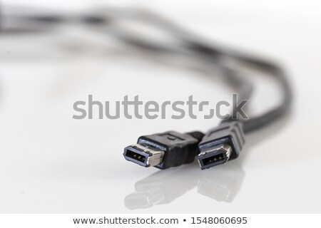 Firewire connection port. Stock photo © Nejron