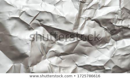 crumpled foil stock photo © sarkao