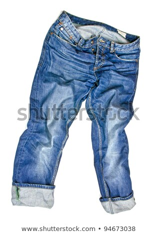 jeans cloth background with zipper  Stock photo © OleksandrO