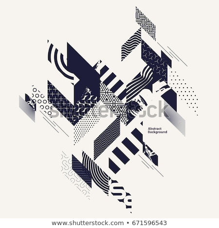 Grunge arte stile abstract digitale Foto d'archivio © Lizard