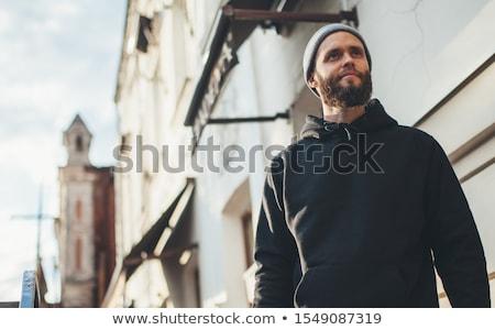 Hoody man Stock photo © Krisdog