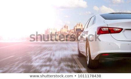 driving a car on street stock photo © neirfy