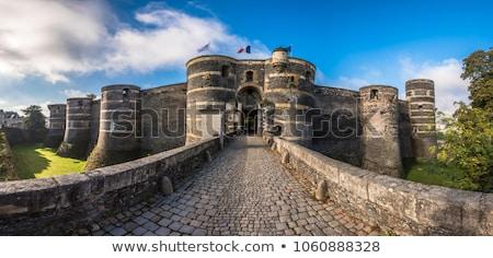 замок · каменные · утес · здании · пейзаж - Сток-фото © ozaiachin