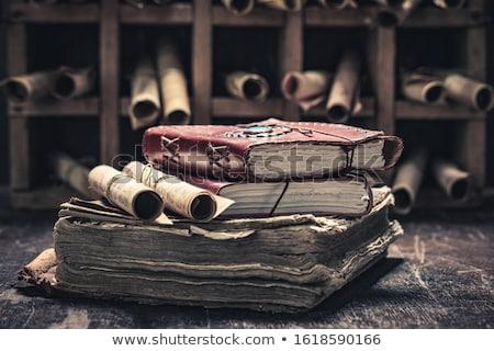ancient knowledge stock photo © grechka333