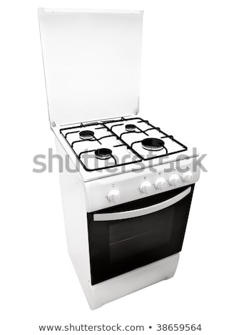gas cooker over the white background stock photo © ozaiachin