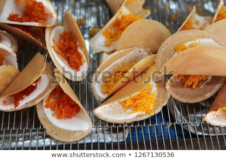 Thai Crispy Pancake or Kanom Buang is a kind of traditional Thai Stock photo © art9858