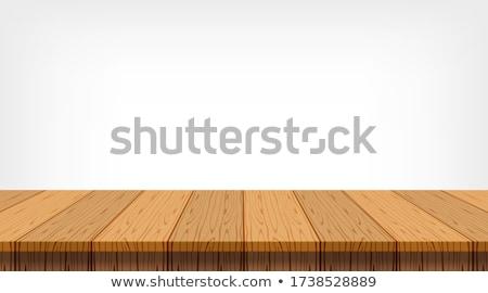 空っぽ 木製 デッキ 素朴な 抽象的な ぼかし ストックフォト © stevanovicigor