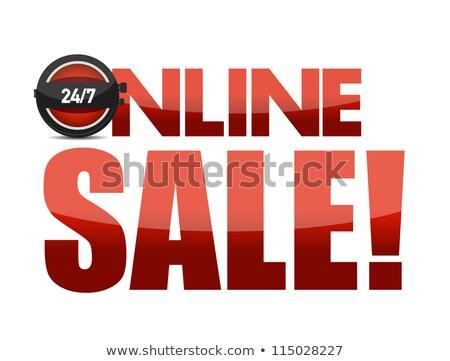 24/7 online Stock photo © fuzzbones0