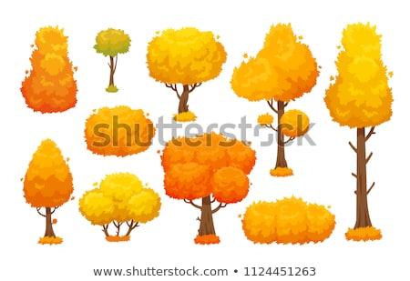 stylized autumn tree stock photo © voysla