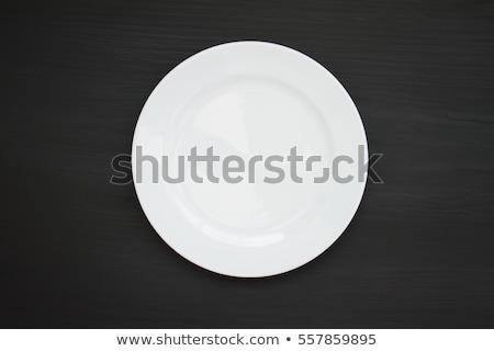 Ceramic knife isolated on black background stock photo © razvanphotos