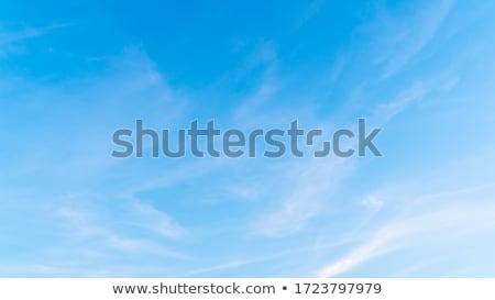 mavi · gökyüzü · bulutlar · eğim · temizlemek · bahar - stok fotoğraf © lunamarina