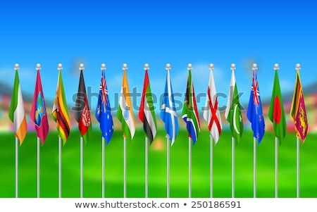 United Arab Emirates and Zimbabwe Flags Stock photo © Istanbul2009