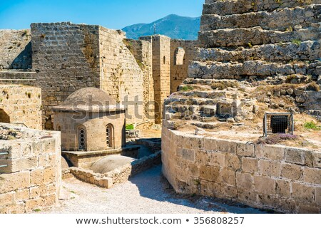 byzantine church of st george inside kyrenia castle cyprus stock photo © kirill_m