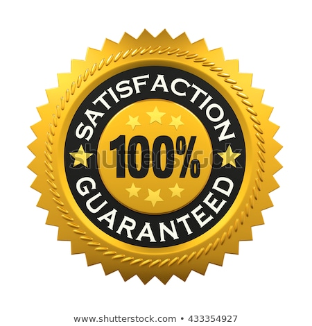 Stok fotoğraf: Satisfaction Guarantee Label