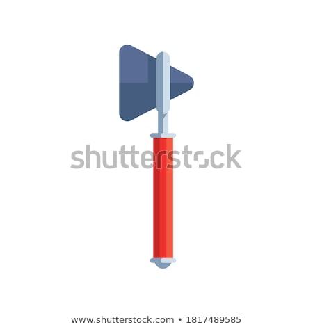 Reflexo martelo médico enfermeira médico saúde Foto stock © shutswis