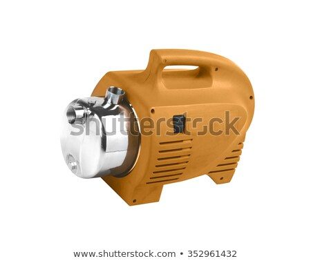 Pump with an electric motor of ruge color Stock photo © shutswis