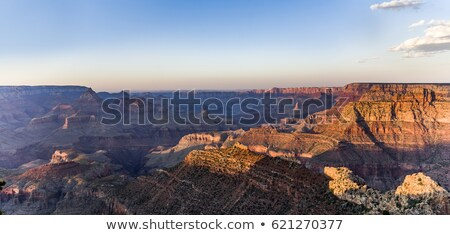 fantastic view into the grand canyon from mathers point, south rim Stock photo © meinzahn