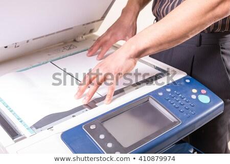 making making copies stock photo © cteconsulting