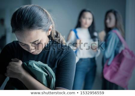 bully teen peer pressure bullies bullying Stock photo © godfer