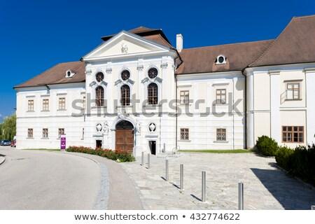Kloster senken Österreich Architektur Anlage Europa Stock foto © phbcz