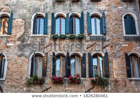 facade of typical merchant house Stock photo © artjazz