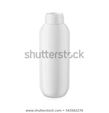 shampoo · geïsoleerd · fles · witte · lichaam · schoonheid - stockfoto © ozaiachin