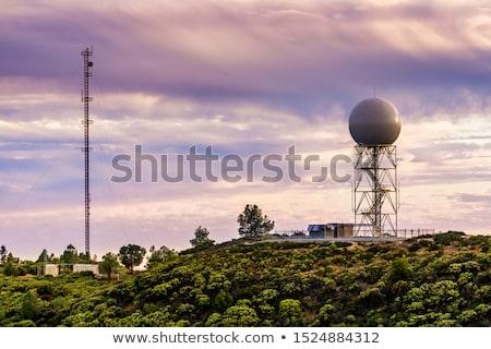 Radar on California Stock photo © Bigalbaloo