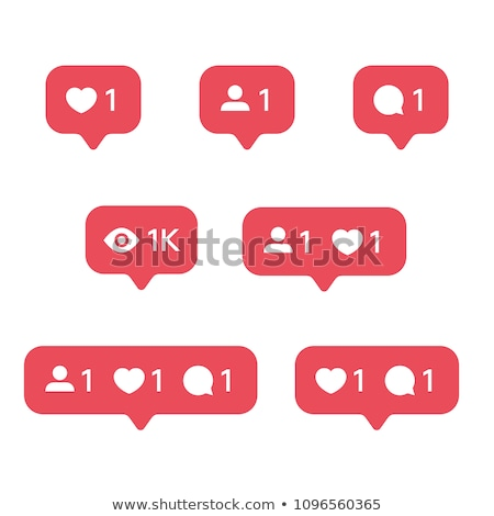 Heart App Icon Template Mobile Application Icon Vector Colorful