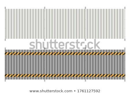 Cink galvanizált fém textúra fém tányér textúra Stock fotó © stevanovicigor
