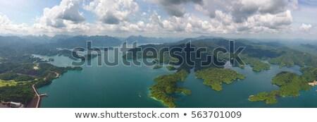 raide · au-dessus · alpine · lac · parc · nature - photo stock © mikko