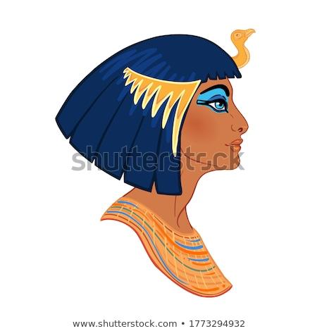 Mısır kraliçe örnek seyahat komik tarih Stok fotoğraf © adrenalina