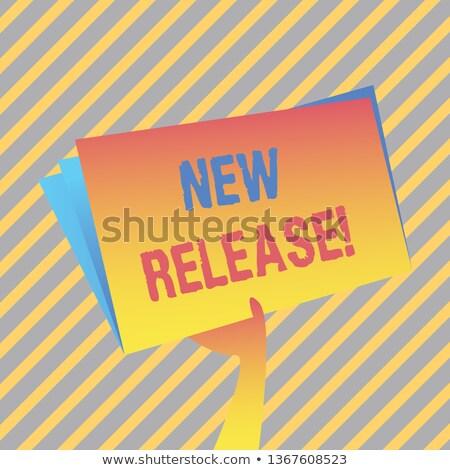 ストックフォト: 新しい · ソリューション · ビジネス · フォルダ · カタログ · カード